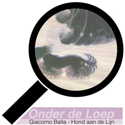 Giacomo Balla - Hond aan de Lijn - Futurisme