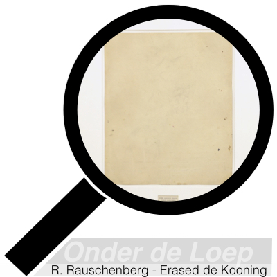 Robert Rauschenberg - Erased de Kooning