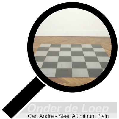 Carl Andre - Steel Aluminum Plain