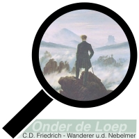 Caspar David Friedrich - der wanderer über dem nebelmer - romantiek