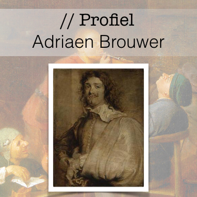 Profiel Adriaen Brouwer