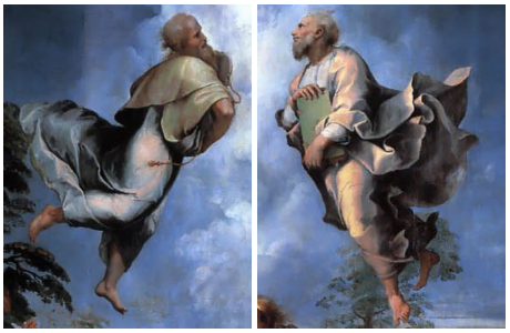 Transfiguratie - Rafael (detail)