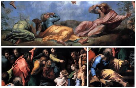 Transfiguratie - Rafael (details)