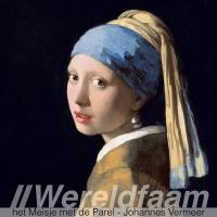 Wereldfaam - Meisje met de Parel - Johannes Vermeer