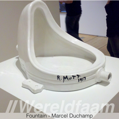 Fountain - Fontein - Marcel Duchamp