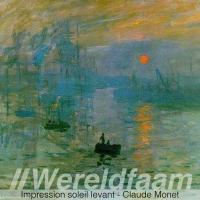 Impression soleil levant - Claude Monet - Impressionisme