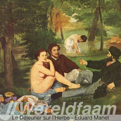 Le Dejeuner sur l'Herbe - Eduard Manet - Musee d'Orsay