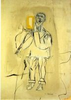 Zelfportret - Willem de Kooning