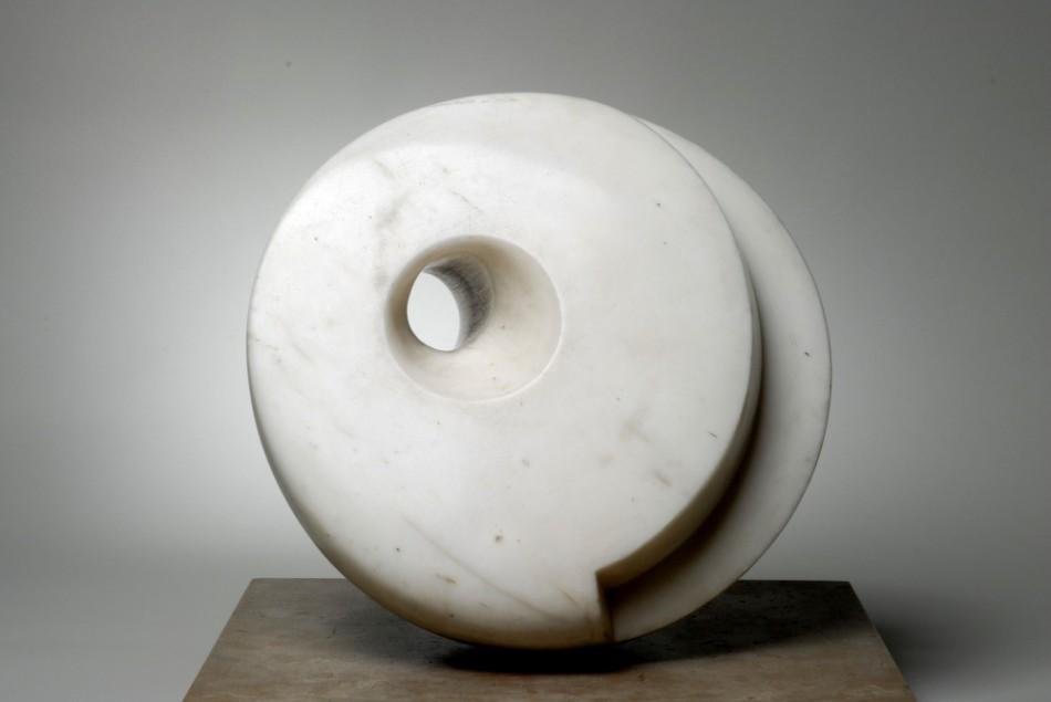 Pierced Hemisphere - Barbara Hepworth