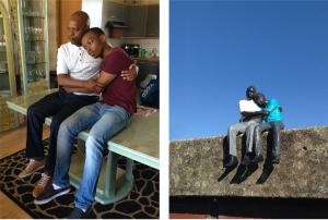 Remy en Lin, in 1994 gevlucht uit Rwanda