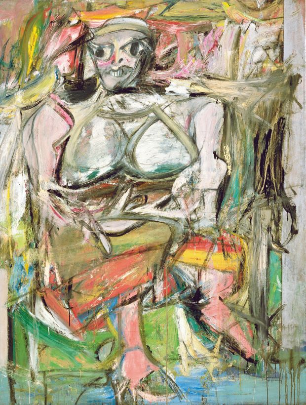 Woman I - Willem de Kooning