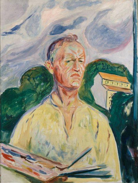 Edvard Munch - Zelfportret