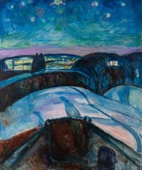 Edvard Munch - Sterrennacht