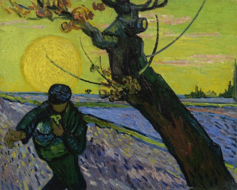 Vincent van Gogh - de Zaaier