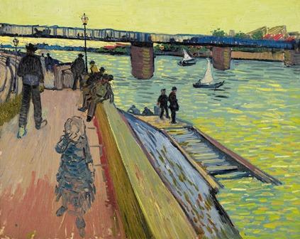Vincent van Gogh - de Brug van Trinquetaille