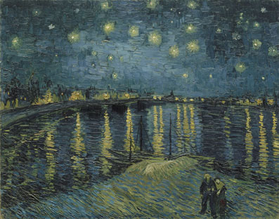 Vincent van Gogh - Sterrennacht