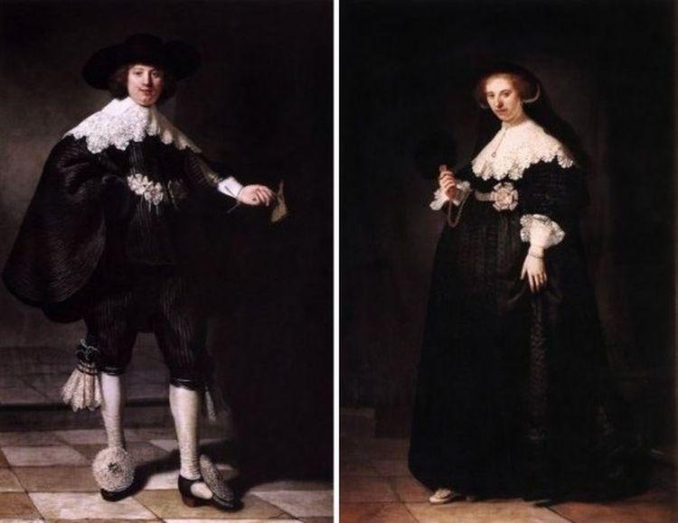 Rembrandt van Rijn - Maerten Soolmans en Oopjen Coppit