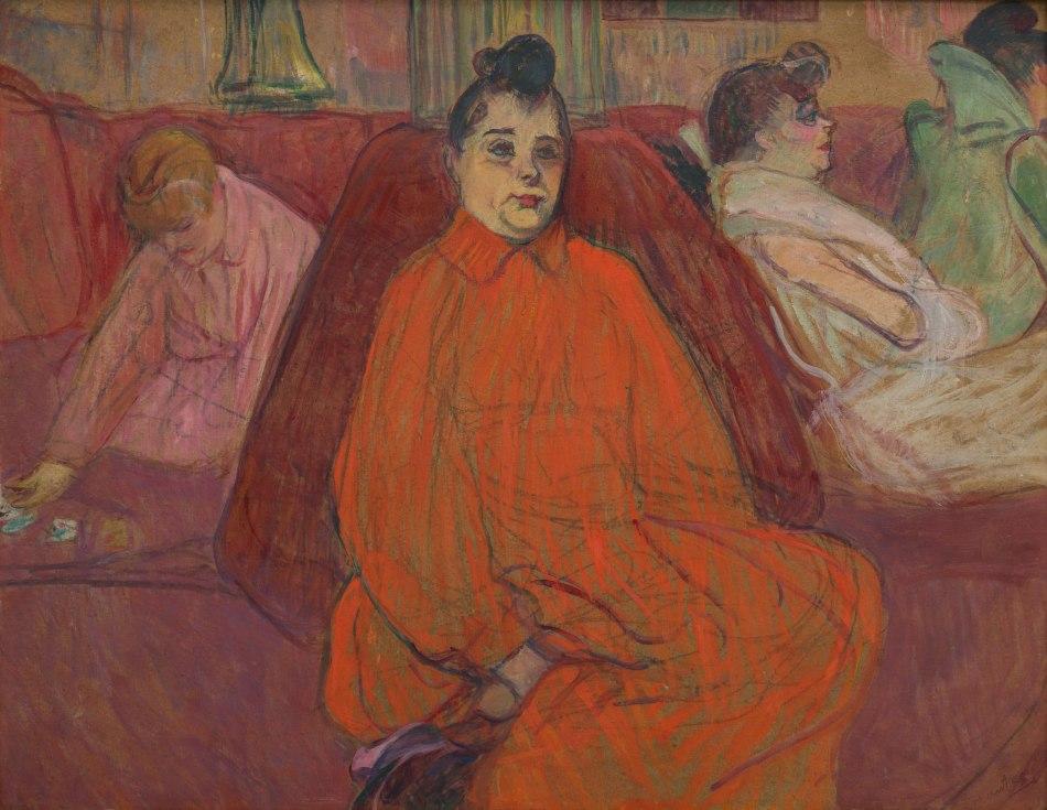 Henri de Toulouse Lautrec - In de salon: de Divan