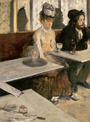 Edgar Degas - Absint