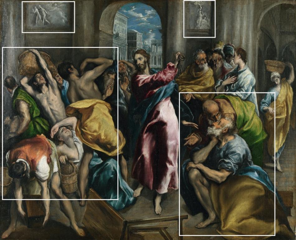 El Greco - de Tempelreiniging