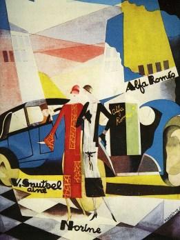 René Magritte - Reclame voor Alfa Romeo