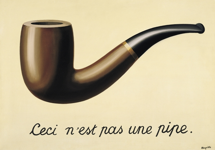 René Magritte - het Verraad van de Voorstelling