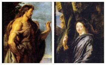 Peter Paul Rubens - de Wederopstanding (detail)