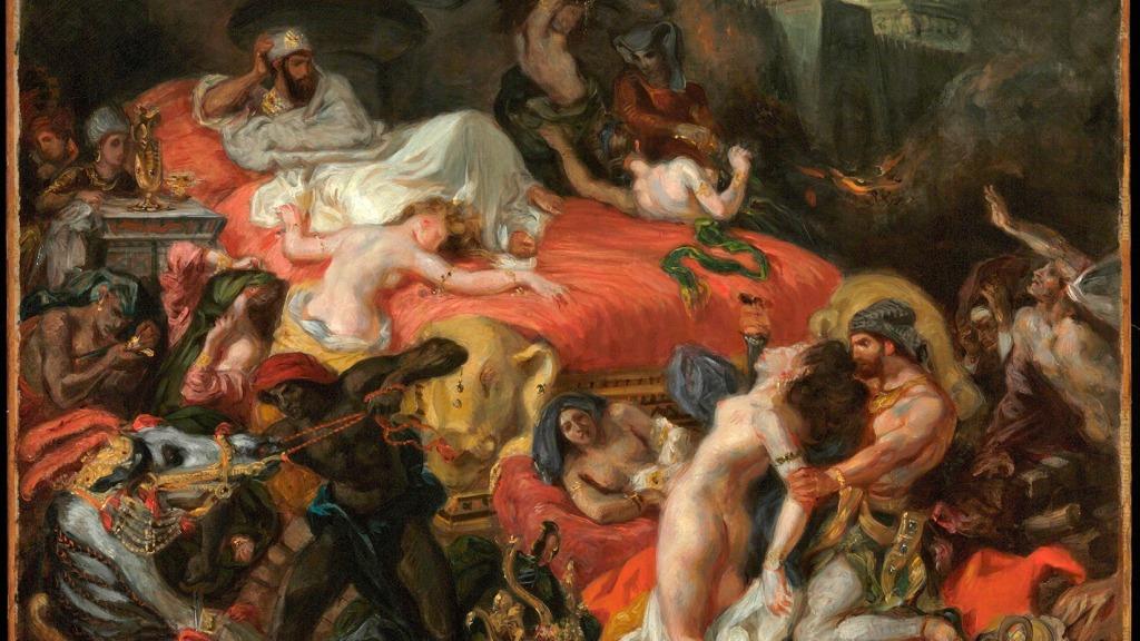 Eugene Delacroix - de Dood van Sardanapalus