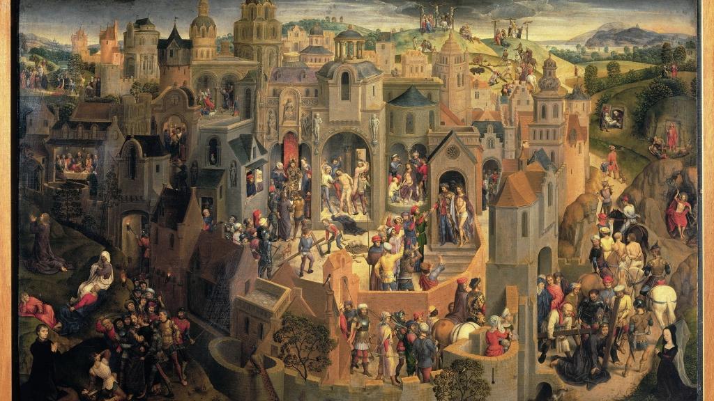 Hans Memling - Scenes uit de Passie van Christus