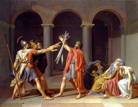Jacques Louis David - Eed van de Horatii