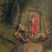 Hans Memling - de Passie van Christus (detail)