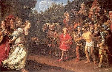 Jacob Waben - Terugkeer van Jephta