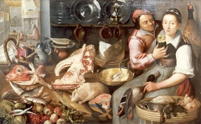 Floris van Schooten - Keukenstuk