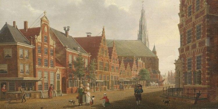 Nieuwstraat in Hoorn - Izaak Ouwater
