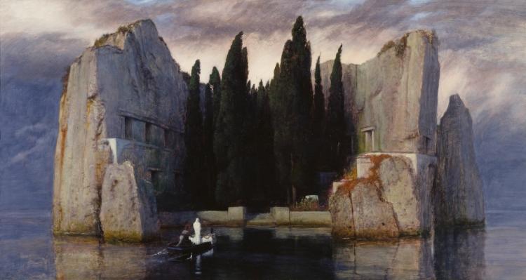 Arnold Böcklin - Dodeneiland (III)