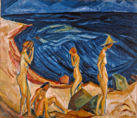 Erich Heckel - Baadsters