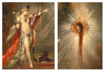 Gustave Moreau - LAparition detail)