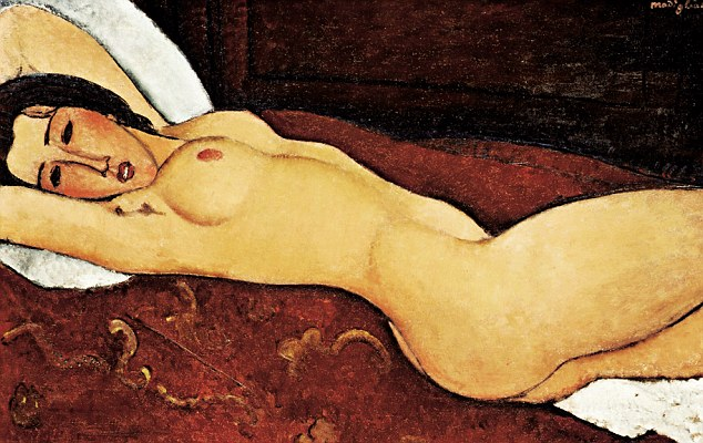 Amedeo Modigliani - Naakt