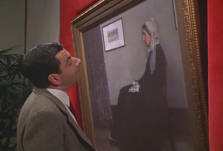 Hoe Mr Bean Een Schilderij Beroemd Maakte Vensters