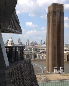 Uitzicht vanaf de 10e verdieping