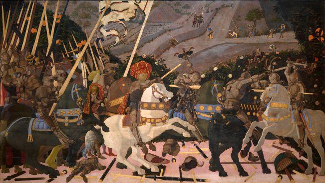 Paolo Uccello - Slag om San Romano