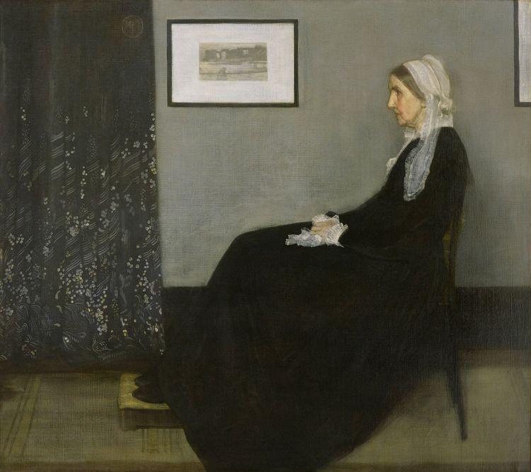 Arrangement in Grey and Black - James Whistler