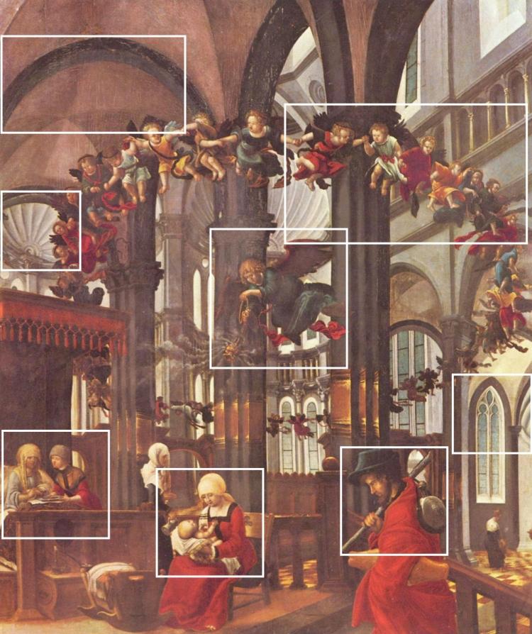 Albrecht Altdorfer - de Geboorte van Maria