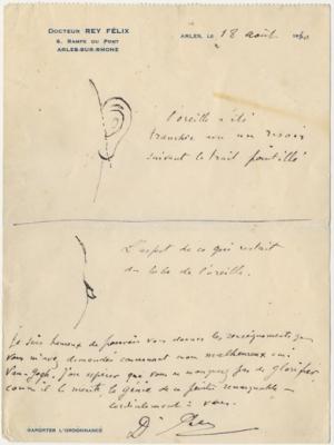 Brief van Dr. Felix Rey