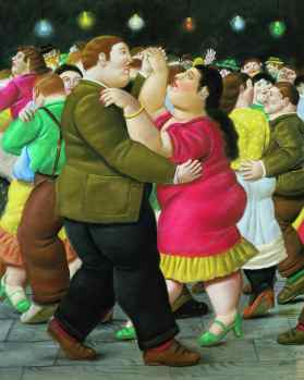 Fernando Botero - Dansers