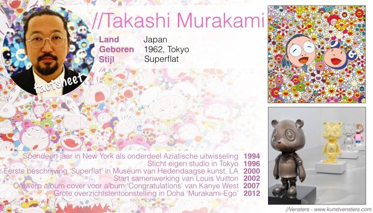 Takashi Murakami Factsheet
