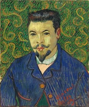 Vincent van Gogh - Portret van Dr Felix Rey