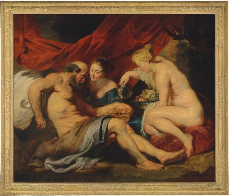 Peter Paul Rubens - Lot en zijn Dochters
