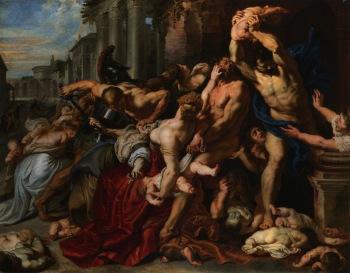 Peter Paul Rubens - de Kindermoord in Bethlehem