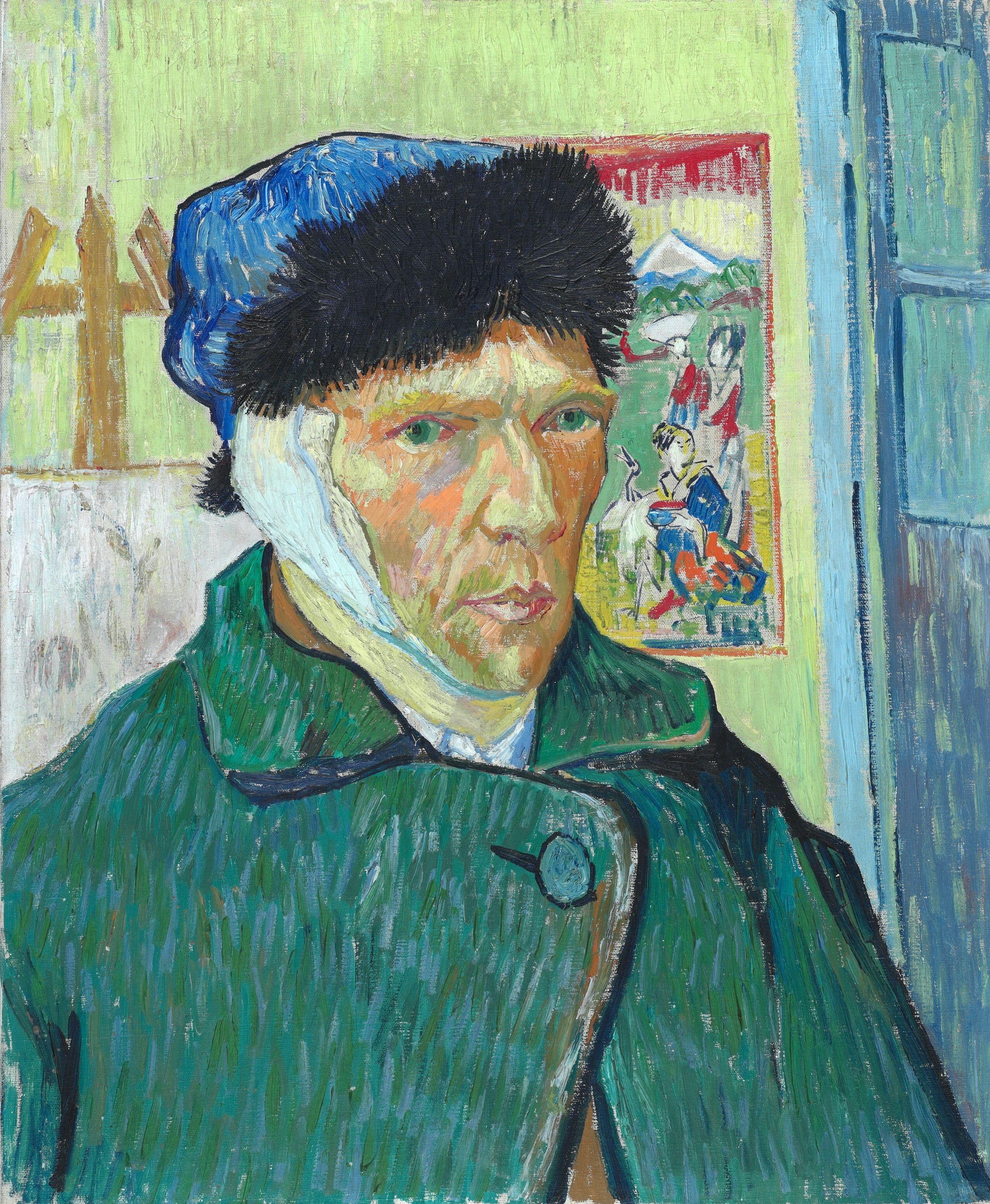 Vincent van Gogh sneed heel zijn oor af –
